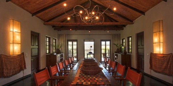 Tanzania - Ngorongoro Crater - The Plantation Lodge - Dining Area