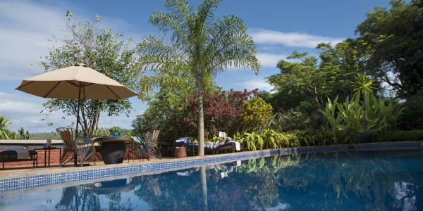 Tanzania - Ngorongoro Crater - The Plantation Lodge - Swimming Pool