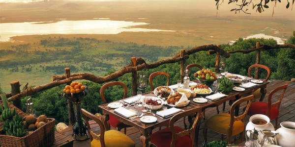 Tanzania - Ngorongoro Crater - andBeyond Ngorongoro Crater Lodge - Breakfast View