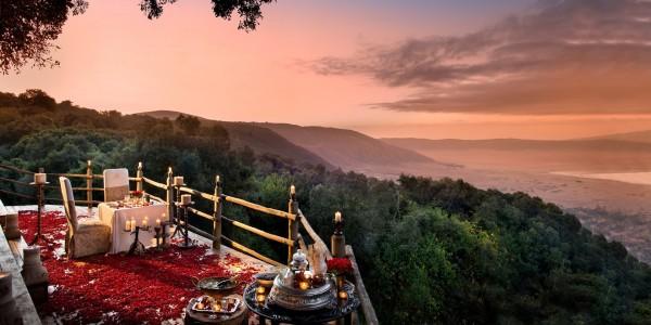 Tanzania - Ngorongoro Crater - andBeyond Ngorongoro Crater Lodge - Dining View