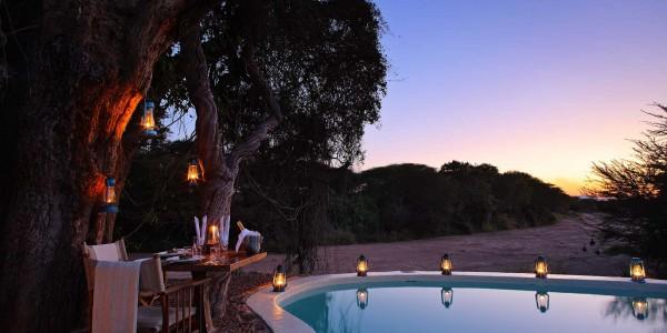 Tanzania - Ruaha National Park - Jongomero Camp - Pool