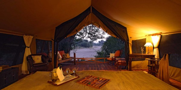 Tanzania - Ruaha National Park - Jongomero Camp - Tent