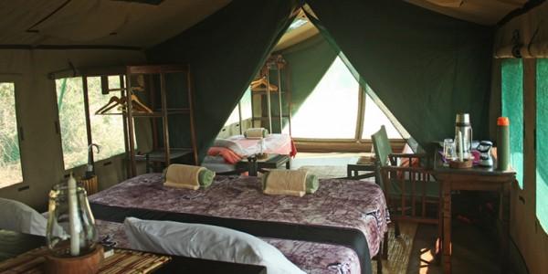 Tanzania - Ruaha National Park - Mdonya Old River Camp - Inside