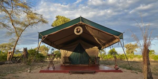 Tanzania - Ruaha National Park - Mdonya Old River Camp - Tent