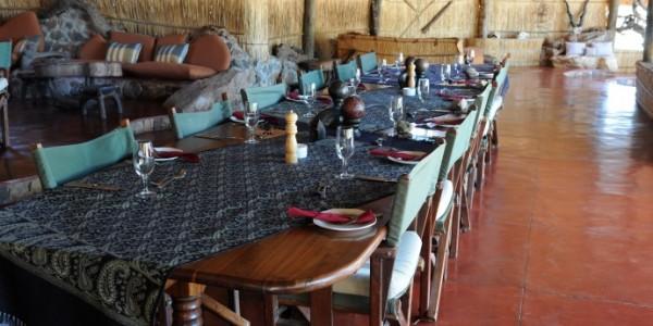 Tanzania - Ruaha National Park - Mwagusi Safari Camp - Restaurant