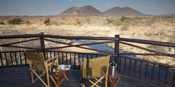 Tanzania - Ruaha National Park - Ruaha River Lodge - View