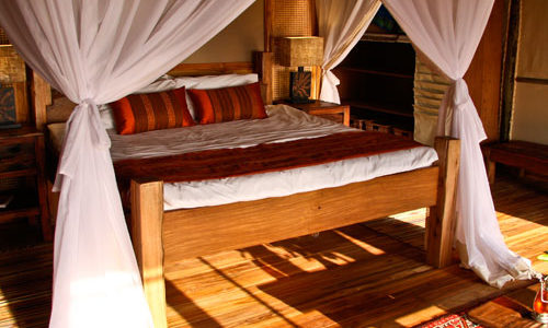 Tanzania - Saadani National Park- Saadani Safari Lodge - Bedroom