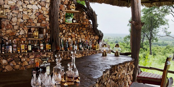 Tanzania - Selous Game Reserve - Beho Beho Camp - Bar