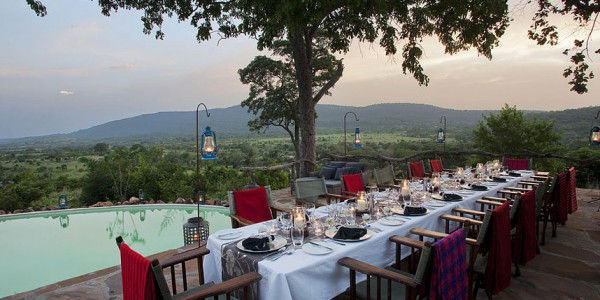 Tanzania - Selous Game Reserve - Beho Beho Camp - Dining