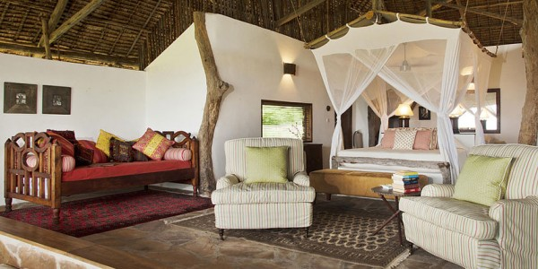 Tanzania - Selous Game Reserve - Beho Beho Camp - Room