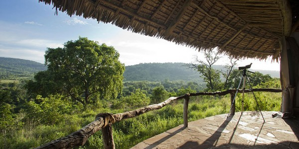 Tanzania - Selous Game Reserve - Beho Beho Camp - View