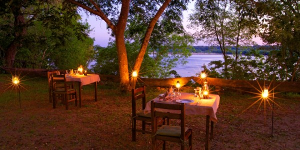 Tanzania - Selous Game Reserve - Rufiji River Camp - Dining