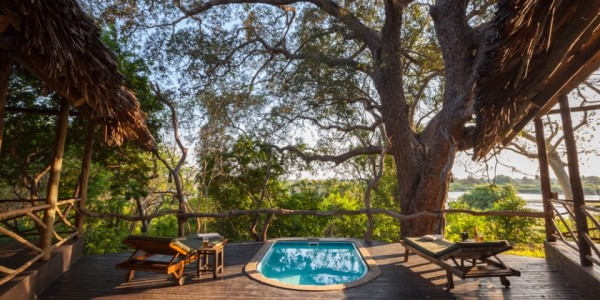 Tanzania - Selous Game Reserve - Rufiji River Camp - Pool