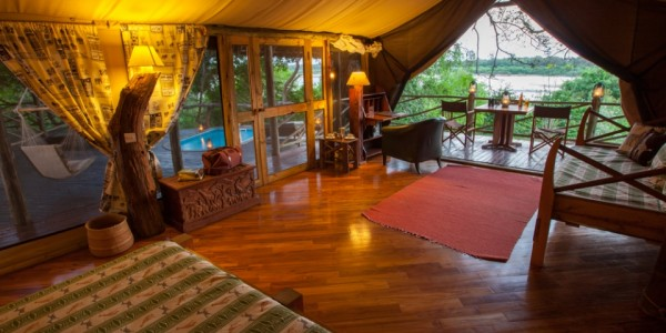 Tanzania - Selous Game Reserve - Rufiji River Camp - Room