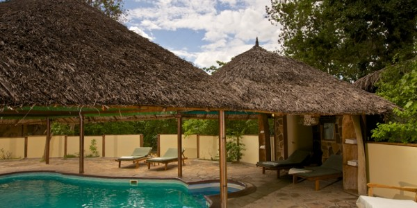 Tanzania - Selous Game Reserve - Rufiji River Camp - Swimming Pool