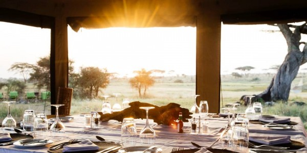 Tanzania - Serengeti National Park - Namiri Plains Camp - Breakfast
