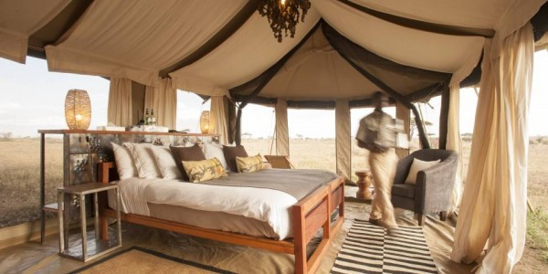 Tanzania - Serengeti National Park - Namiri Plains Camp - Tea