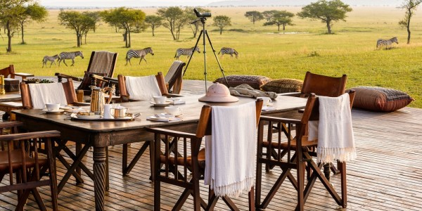 Tanzania - Serengeti National Park - Singita Sabora Tented Camp - Dining