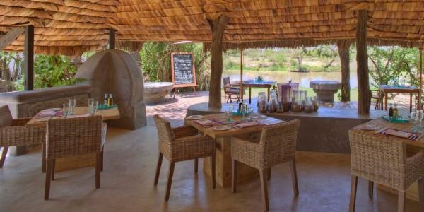 Tanzania - Serengeti National Park - andBeyond Grumeti Serengeti Tented Camp - Guest and Dining Area