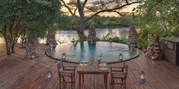 Tanzania - Serengeti National Park - andBeyond Grumeti Serengeti Tented Camp - Swimming Pool