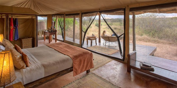 Tanzania - Tarangire National Park - Oliver's Camp - Bedroom