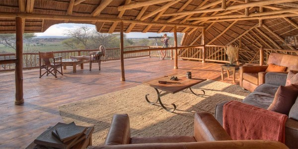Tanzania - Tarangire National Park - Oliver's Camp - Deck