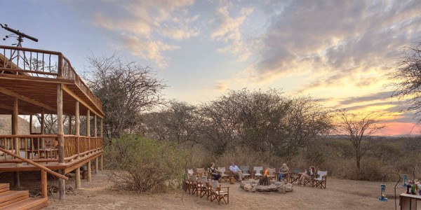 Tanzania - Tarangire National Park - Oliver's Camp - Decks