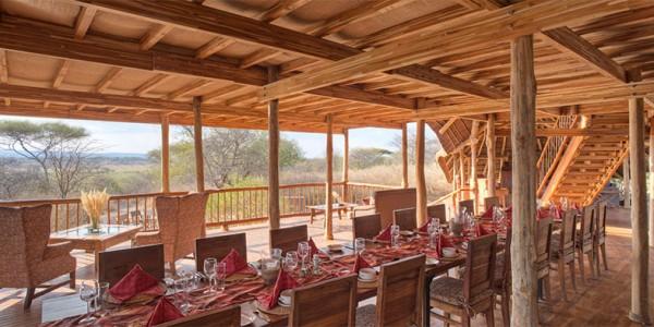 Tanzania - Tarangire National Park - Oliver's Camp - Dining Area
