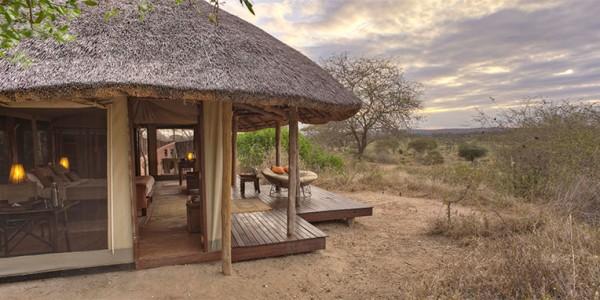 Tanzania - Tarangire National Park - Oliver's Camp - Outside