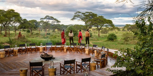 Tanzania - Tarangire National Park - Sanctuary Swala Camp - Deck