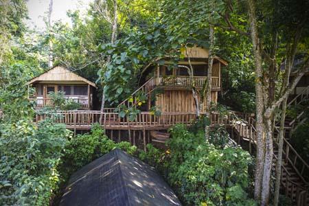 Uganda - Bwindi National Park - Buhoma Lodge - Outside