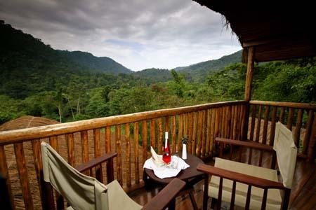 Uganda - Bwindi National Park - Buhoma Lodge - Rooms