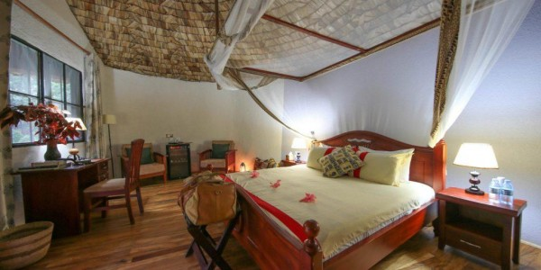 Uganda - Bwindi National Park - Mahogany Springs Lodge - Honeymoon Suite