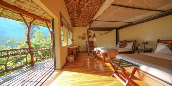 Uganda - Bwindi National Park - Mahogany Springs Lodge - Superior Suite