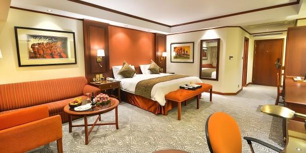 Uganda - Entebbe, Jinja & Kampala - Kampala Serena Hotel - Room