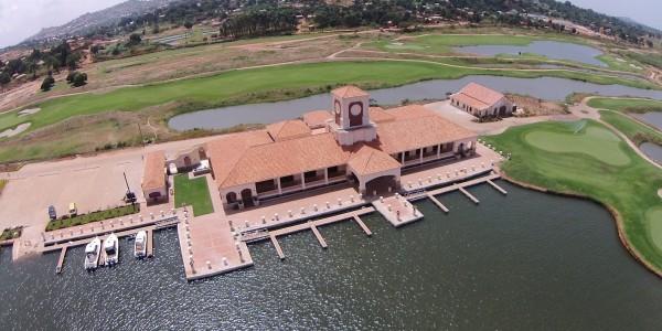 Uganda - Entebbe, Jinja & Kampala - Lake Victoria Serena Golf Resort & Spa - Areal View