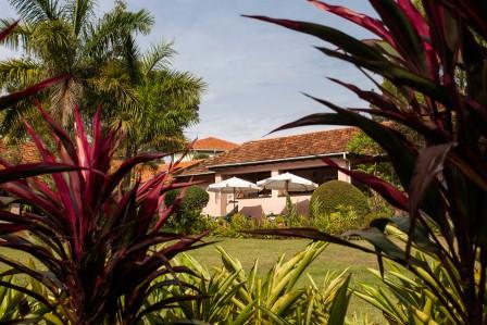 Uganda - Entebbe, Jinja & Kampala - The Boma Hotel - Garden