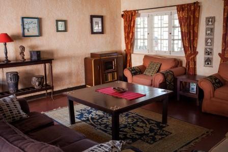 Uganda - Entebbe, Jinja & Kampala - The Boma Hotel - Inside