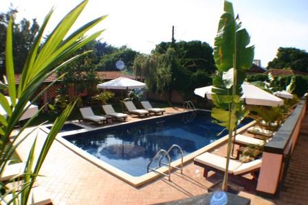 Uganda - Entebbe, Jinja & Kampala - The Boma Hotel - Pool