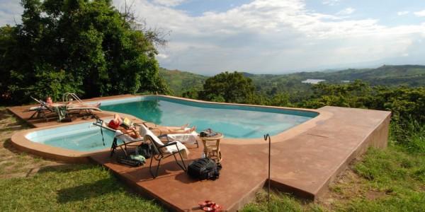 Uganda - Kibale Forest National Park - Ndali Lodge - Pool