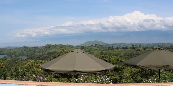 Uganda - Kibale Forest National Park - Ndali Lodge - View