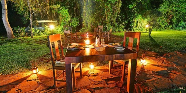 Uganda - Kibale Forest National Park - Primate Lodge - Dining