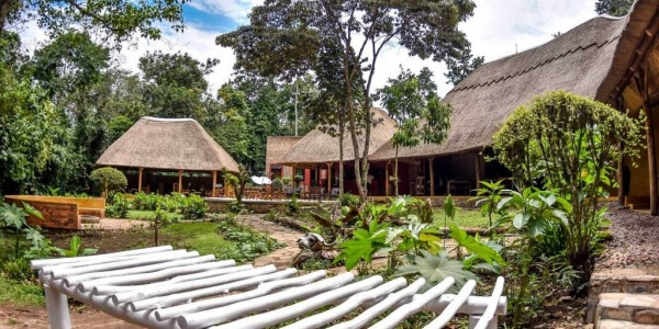 Uganda - Kibale Forest National Park - Primate Lodge - Garden