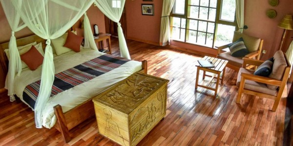 Uganda - Kibale Forest National Park - Primate Lodge - Room