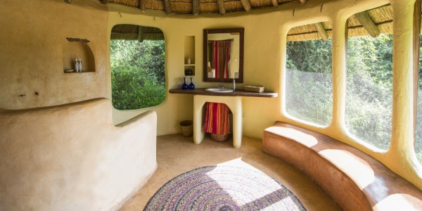 Uganda - Lake Mburo National Park - Mihingo Lodge - Bathroom