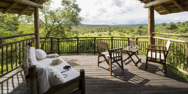 Uganda - Lake Mburo National Park - Mihingo Lodge - View