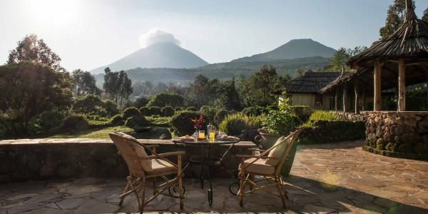 Uganda - Mgahinga Gorilla National Park - Mount Gahinga Lodge - View