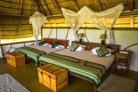Uganda - Murchison Falls National Park - Baker's Lodge - Bedroom