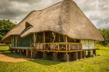 Uganda - Murchison Falls National Park - Baker's Lodge - Lodge
