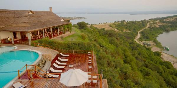 Uganda - Queen Elizabeth National Park - Mweya Safari Lodge - Overview